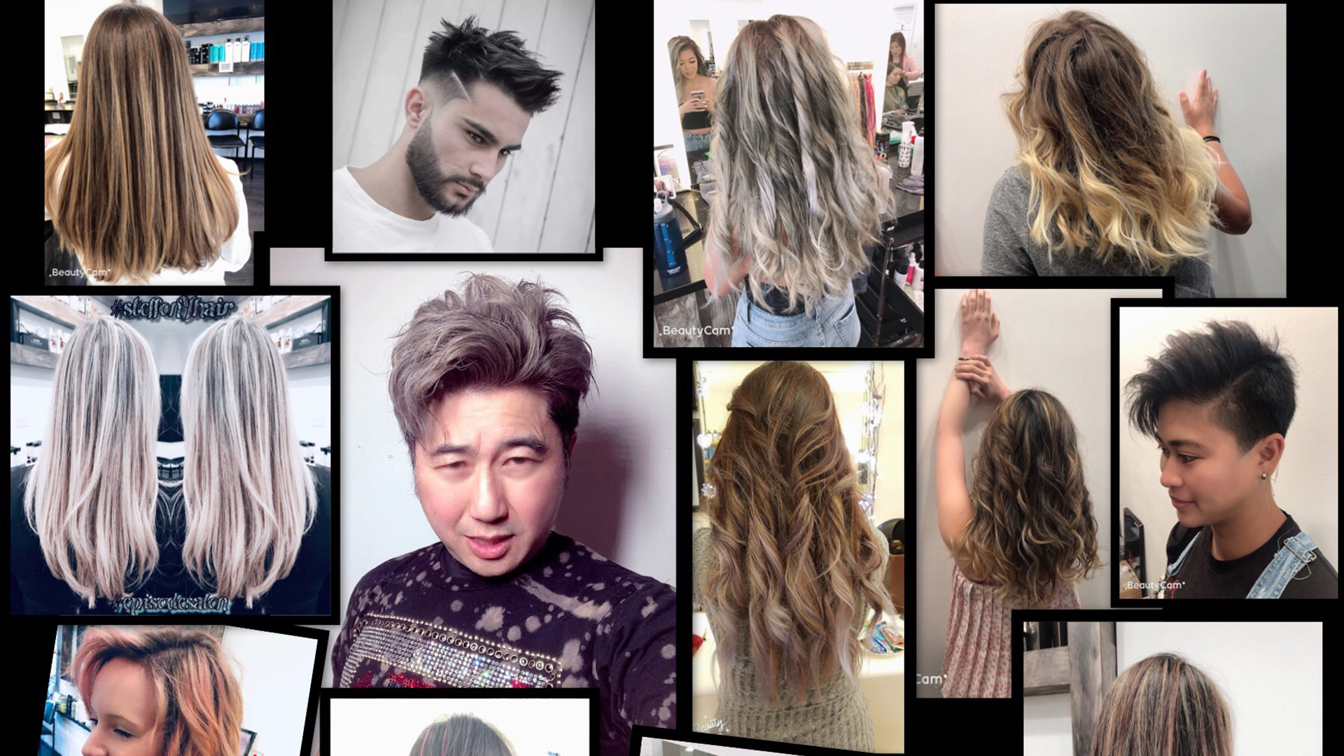 episode salon hair cut
